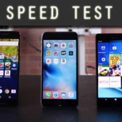 iPhone 6s Plus, Nexus 6P i Lumia 950 XL u testu brzine