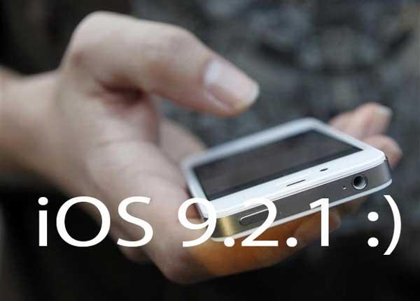 iOS 9.2.1 poboljšava performanse za iPhone 4s i iPhone 5