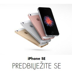 iPhone SE predbilježbe