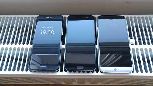 LG G5 vs. HTC 10 vs. Galaxy S7 edge - troboj zaslona (1)