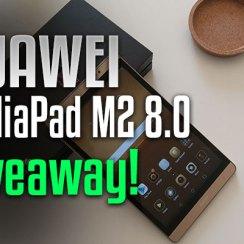 Huawei MediaPad M2 8.0 - Unboxing i Giveaway!
