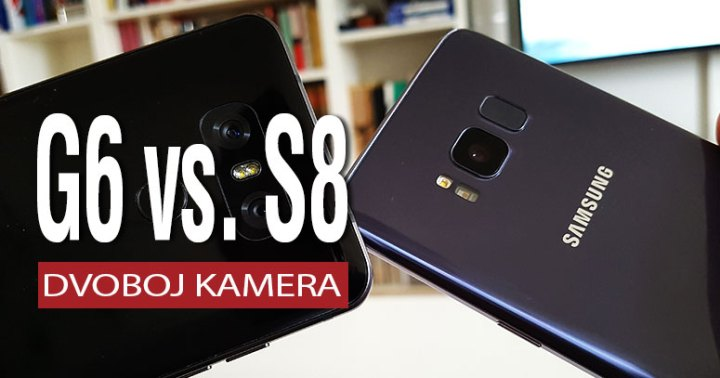 LG G6 vs. Galaxy S8 - Dvoboj kamerama