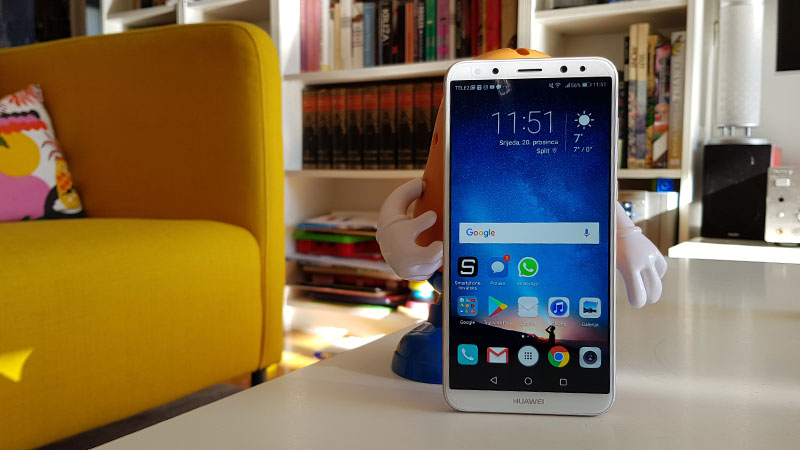 Recenzija: Huawei Mate 10 Lite