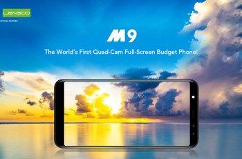 LEAGOO M9 - prvi super jeftini smartphone s 4 kamere i 18:9 zaslonom!