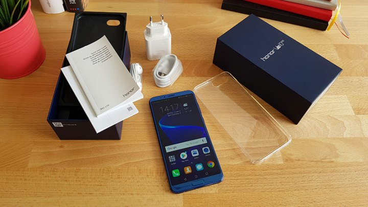 Honor view 10 unboxing test