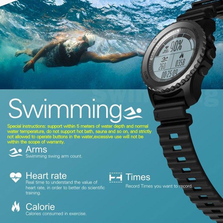 Zgrabi S968 Outdoor Professional Smart Sport GPS Watch u pola cijene!