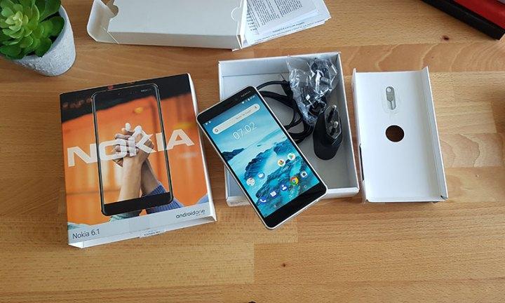 Nokia 6.1 Unboxing