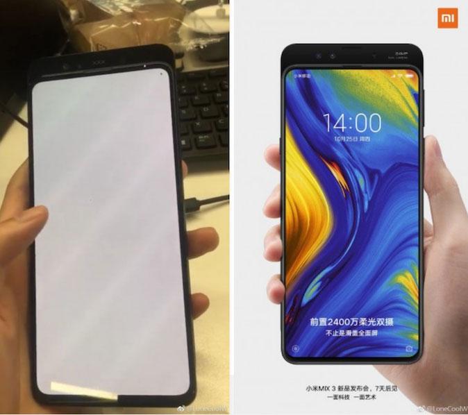 Xiaomi Mi Mix 3 na novim fotkama uživo, stiže 25. listopada