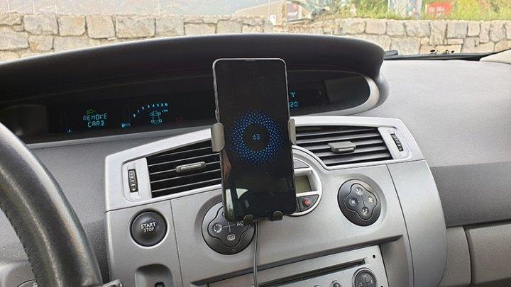 Baseus bežični auto punjač za smartphone [Recenzija + Giveaway!]