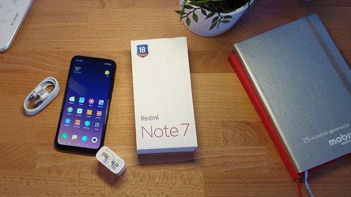 Redmi Note 7 - Unboxing i prvi dojmovi