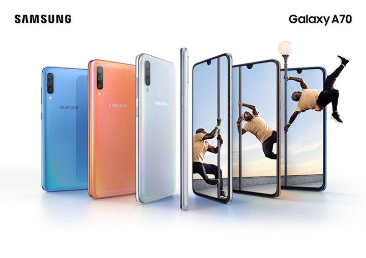 Samsung Galaxy A70 službeno 6.7'' zaslon, jaka baterija, 32MP selfie i trostruka kamera na leđima