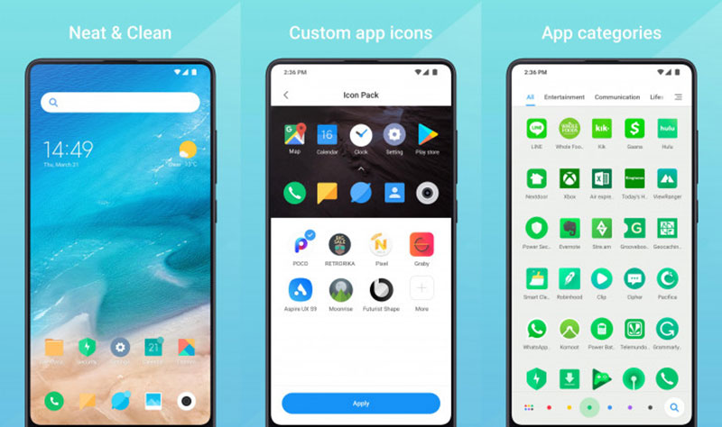 Isprobaj novi Xiaomiev Mint launcher [Apk Download]