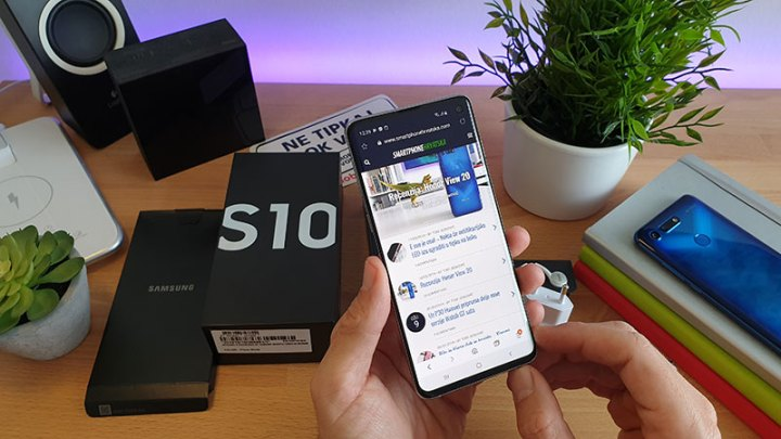 galaxy s10 unboxing