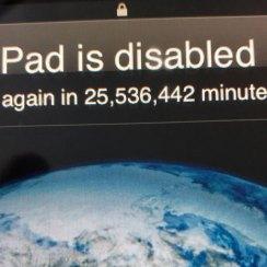 Trogodišnjak blokirao iPad na 48 godina