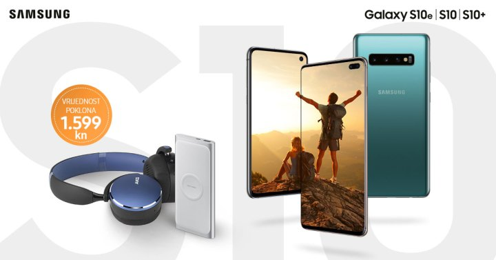 Samsung kupce Galaxy S10 uređaja nagrađuje AKG Y500 by HARMAN slušalicama i Wireless Battery Packom