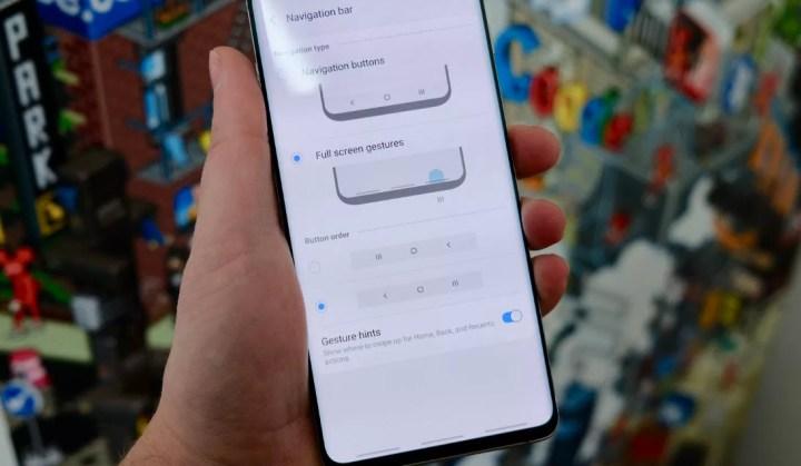 Samsung ažuriranjem za Galaxy S10 poboljšava iskustvo navigacijskih gesti