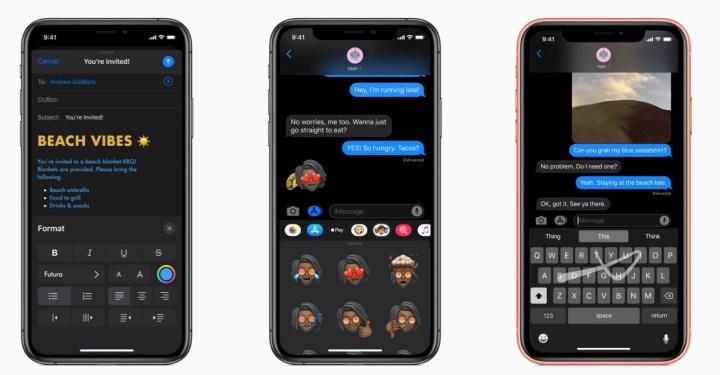 iOS 13 Nove Poruke, Mail, Bilješke i Podsjetnici