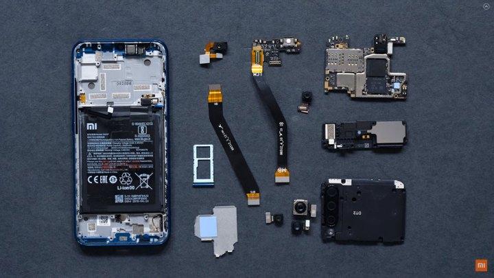 Xiaomi novi Mi A3 na videu rastavio na proste faktore