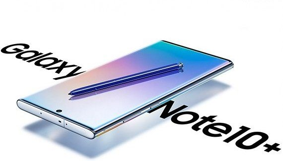 Galaxy Note 10+ render