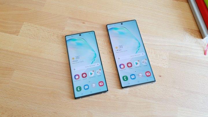 Samsung Galaxy Note 10 vs. Galaxy Note 10+ [Usporedni test]