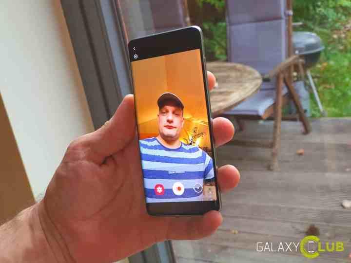 Samsung slofie