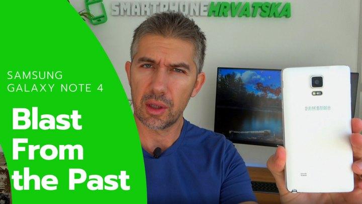 Samsung Galaxy Note 4 šest godina kasnije