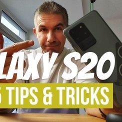 GALAXY S20 ULTRA TOP 5 TIPS
