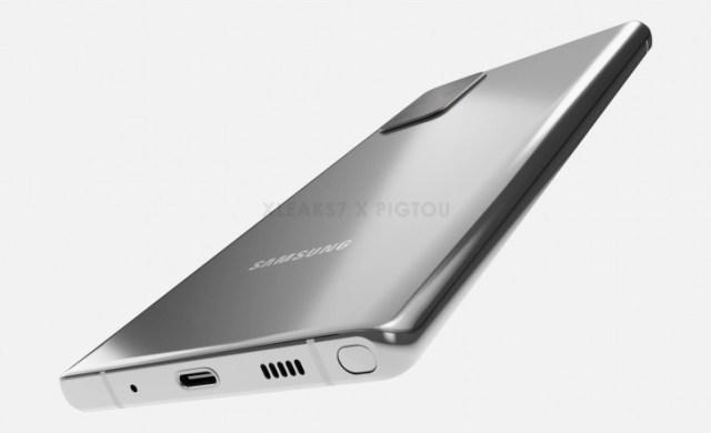 Prvi pogled na Galaxy Note 20 iz Samsunga