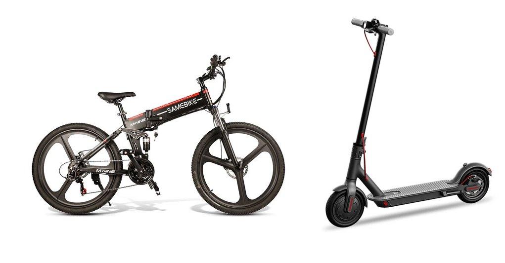 Tražiš električni romobil ili bicikl? Tomtop ih ima na akciji