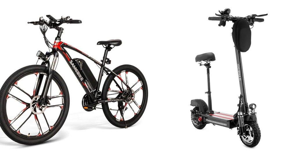 Električni bicikl i romobil u novoj akcijskoj ponudi