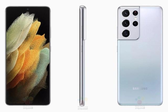 Galaxy S21 Ultra službeni render i detaljne specifikacije