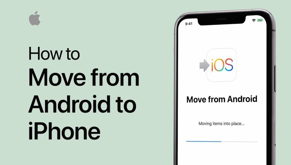 kako s androida na iPhone