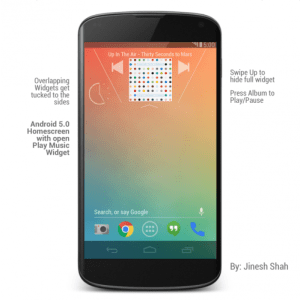 Android-5.0-Music-Widget-499x500