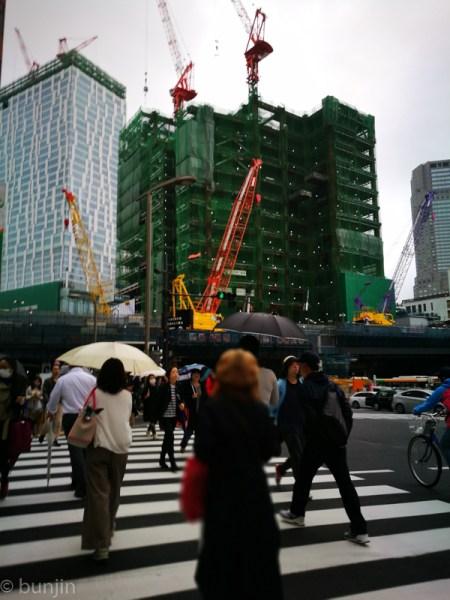 渋谷、雨模様