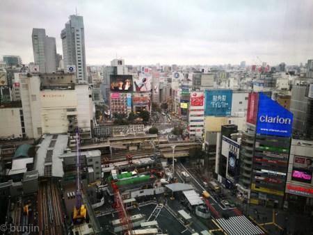 渋谷、改造中