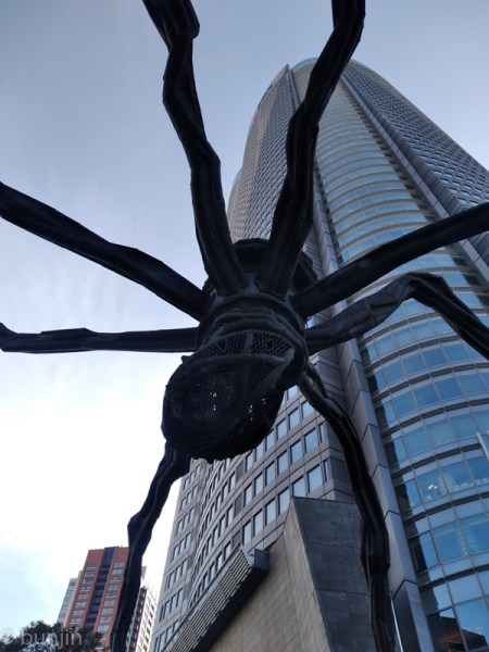Maman Spider Sculpture at Roppongi-Hills