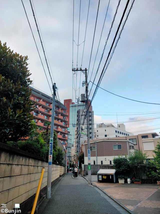 Back streets and wires