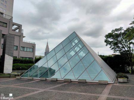 Crystal pyramid in Shinjuku