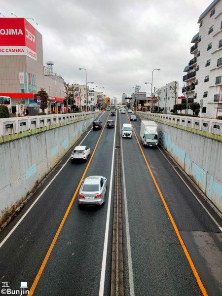Loop road No.7 in TOKYO