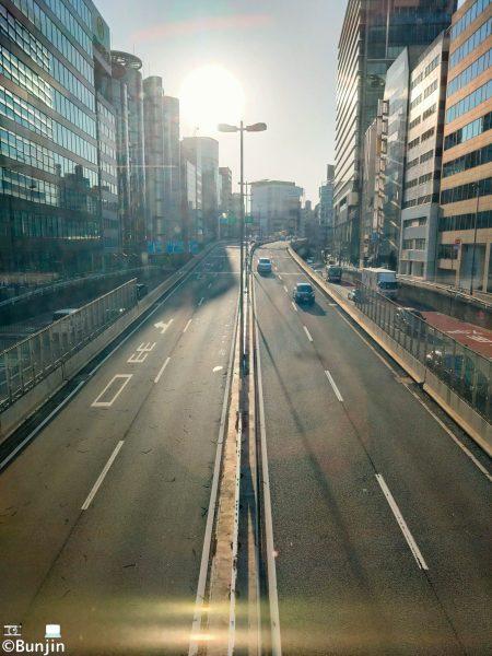 Highway in Shibuya