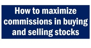 Investing in the Philippine Stock Market Tip #2 – Make your transaction worth at least 8k