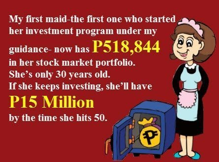 My Maid Invests in Stock Market... and why your should too by Bo Sanchez