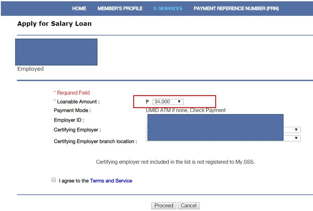 SSS Salary loan amount increase