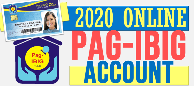 2020 Virtual Pag-IBIG – Online Monitoring of your Contributions