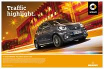 Umfangreiche Kampagne zur Markteinführung: smart BRABUS – der Sportwagen für die Stadt