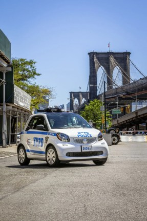 smart fortwo @ New York Police Department