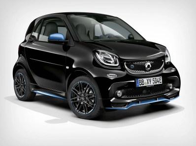 smart EQ fortwo / forfour edition nightsky