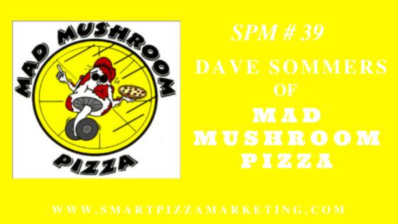 SPM #39 Mad Mushroom Pizza