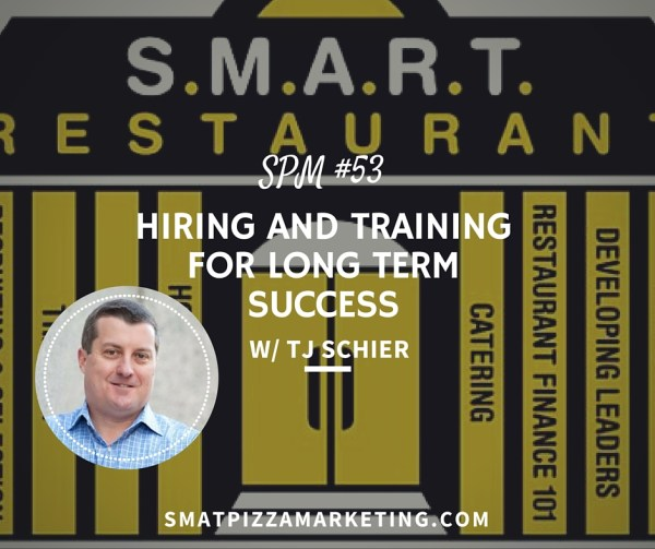 Hiring and training for pizzerias
