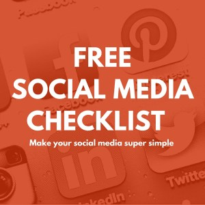 Social Media checklist for restaurants and pizzerias